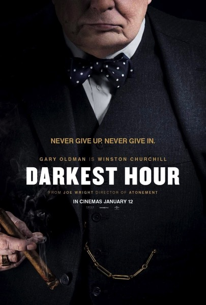 Darkest Hour One Sheet ポスター
